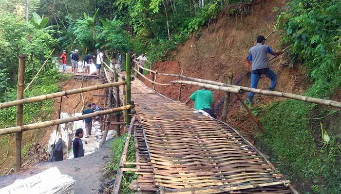 Jembatan Gantung Sidomulyo Selamatkan Akses Dua Desa