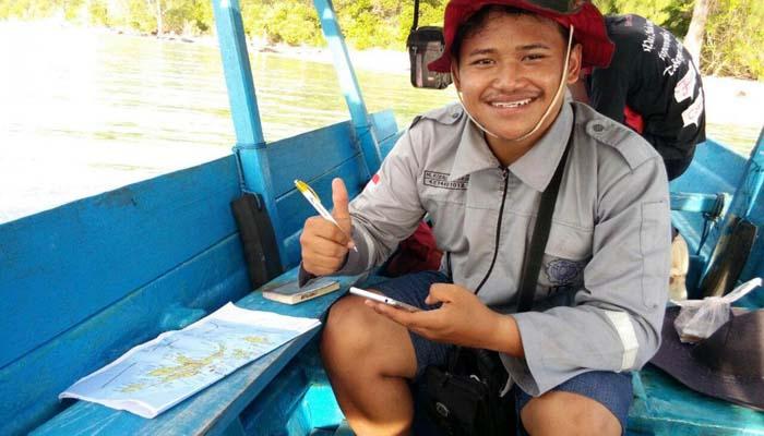 M Rizqi Mubarok dan Penelitian tentang Kekuatan Arus Laut Malut untuk Listrik