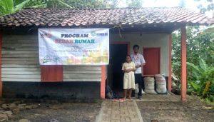 2018, 50 Rumah Tidak Layak Dibedah