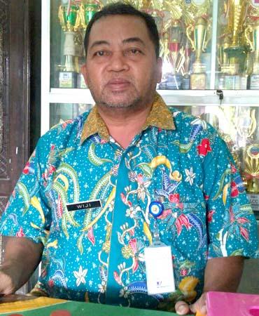 Wiji SPd, Ketua KKKS SD Kec Wonokerto