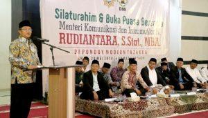 Dari Silaturahim dan Buka Bersama Menkominfo di PM Tazakka