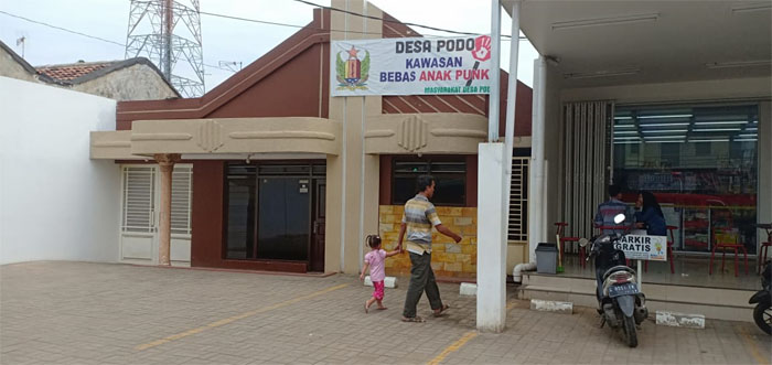 Desa Podo Kawasan Bebas Anak Punk