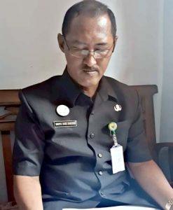 Kepala Dinas Pariwisata Pemuda dan Olahraga (Disparpora) Kabupaten Batang Wahyu Budi Santoso