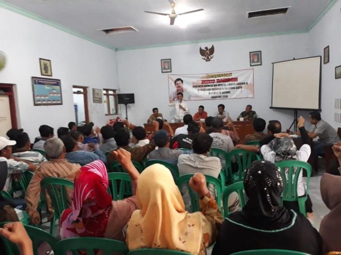 Perjuangkan Pembangunan IPAL untuk Perajin Tempe dan Tahu Desa Lebo