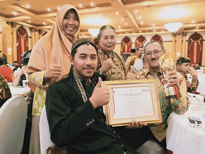Angkat Kopi Lokal, Pemuda Batang Raih Juara 3 Pemuda Pelopor Nasional