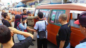 Kampanye di Angkot
