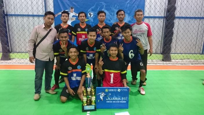 SMK Ini Miliki Potensi Prestasi Futsal dan Sepakbola