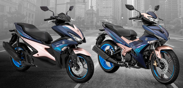 Yamaha Rilis edisi terbatas Aerox 155 dan MX King 150