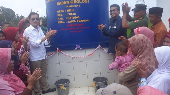Ribuan Warga Desa Beji Kini Nikmati Air Bersih