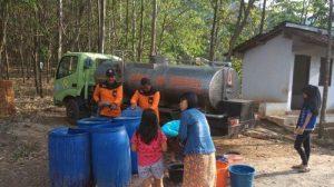 Hari Ini, Dua Desa Akan Didroping Air Bersih